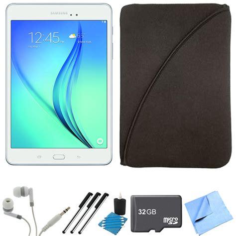 Samsung Tab 8 In samsung galaxy tab a sm t350nzwaxar 8 inch tablet 16 gb white 32gb memory car