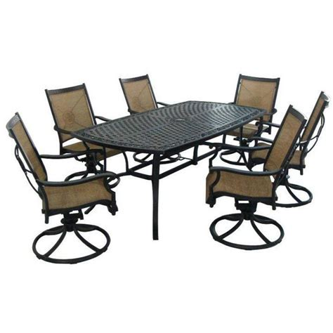 hton bay patio table patio tables home depot hton bay niles park 18 in cast