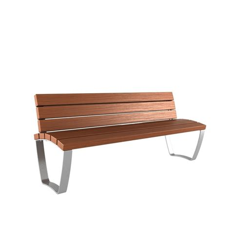 one bench max modern bench collection 1 3d model max obj 3ds fbx mtl