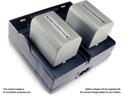 sony bc vh1 battery charger dual battery charger for sony np fp batteries bc vh1 replac