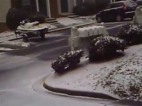 winter storm slams charlotte, nc !! feb 2014 youtube