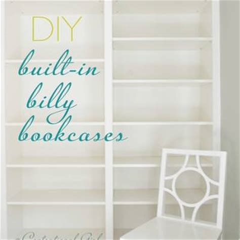 click to see how to create an ikea kitchen that works for how to make built in bookcases from ikea billy bookshelves