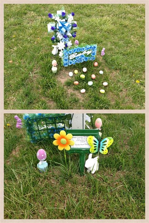 easter decorations for grave dante