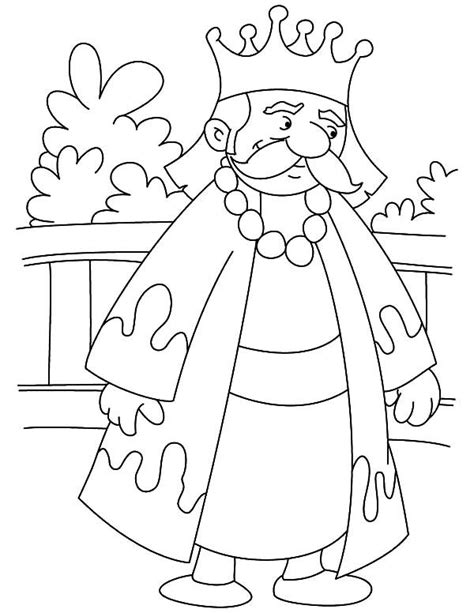 Coloring Page King by King On Throne Coloring Page Bible Character Coloring