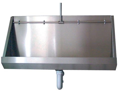 twyford stainless steel 1200mm wall hung urinal ps8201ss