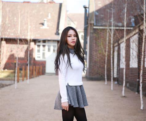 Preppy style chloe ting melbourne australia fashion blog