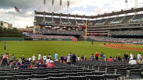 section 117 progressive field progressive field section 174 rateyourseats com