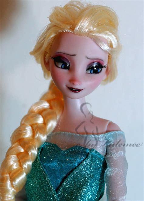 elsa hair style dolls elsa doll repaint by lulemee on deviantart