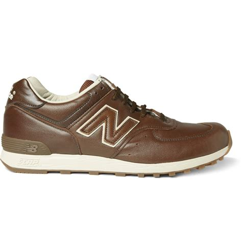 new balance sneakers new balance 576 leather running sneakers sneaker cabinet