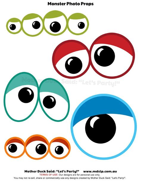 free printable eyes for crafts best photos of printable monster eye templates monster
