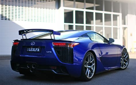 lexus lfa blue blue lexus lfa hd wallpaper home of wallpapers free