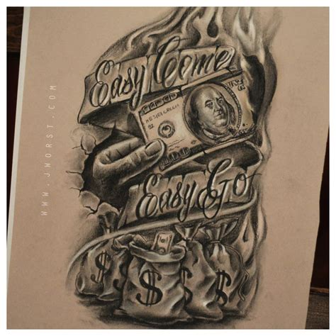 money sleeve tattoo designs best 20 money ideas on