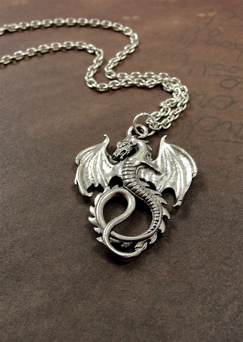 necklace silver plated charm on by