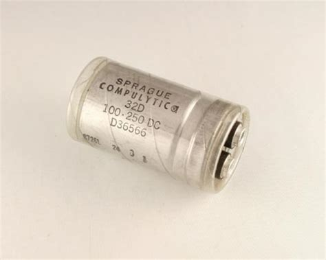 large can type aluminum electrolytic capacitors 32d101g250aa sprague capacitor 100uf 250v aluminum electrolytic large can computer grade 2020003759