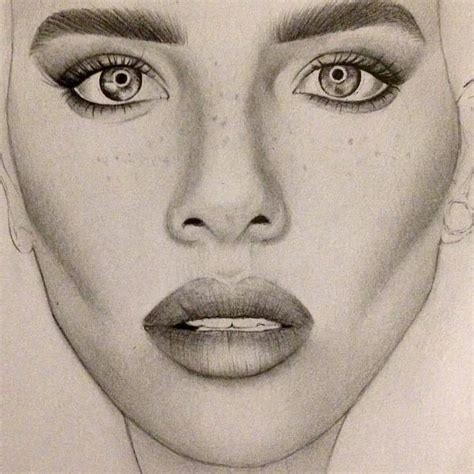 Drawing Realistic Faces by Terezie