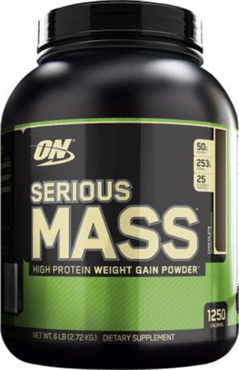On Serious Mass Optimum Serious Mass At Bodybuilding Best Prices For