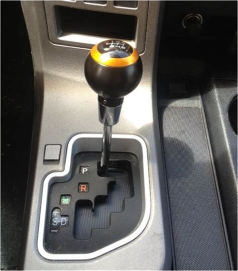 2010 tundra limited stock shift knob replaced