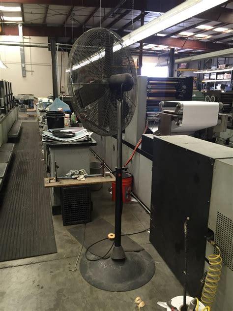 patton industrial heavy duty fan lot 24 industrial heavy duty high velocity pedestal shop