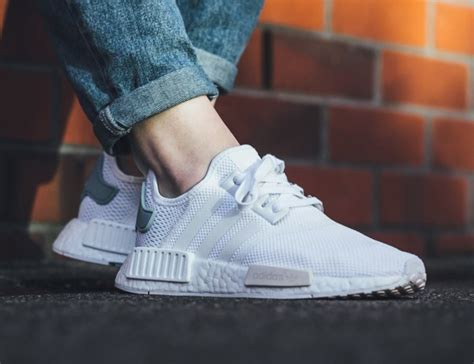 s adidas nmd r1 quot white tactile green quot retail