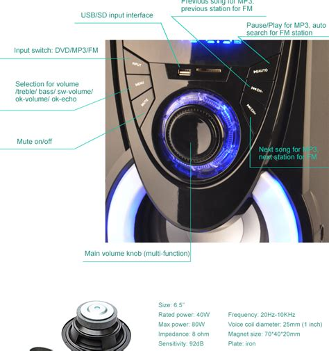 2017 selling wireless home theater speaker system 5 1