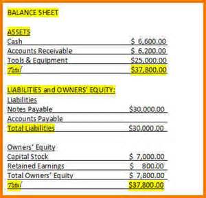 balance sheet template for small business balance sheet template for small business authorization