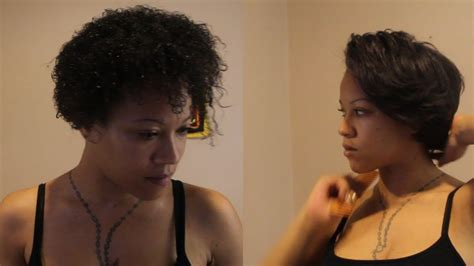 pressed short hairstyles straightening silk press my twa short natural hair