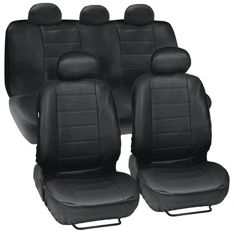 Auto Cover by Prosyn Black Leather Auto Seat Covers For Chevrolet Cruze