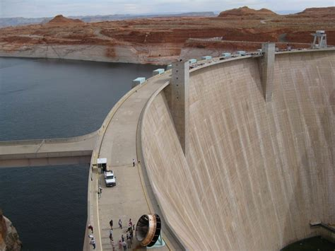 Where Was The Marble Dam Supposed To Be Built - glencanyon dam and lake powell