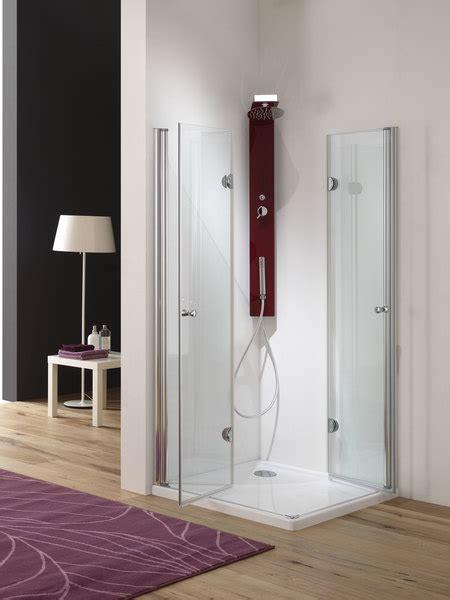 doccia doppia box doccia doppia apertura a libro soffietto cristallo 6