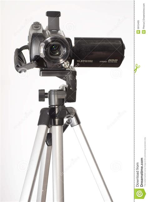 Tripod Handycam by Handycam Tripod Royalty Free Stock Photo Image 9915405
