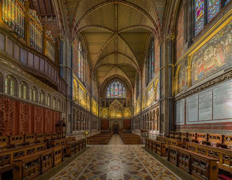 Oxford Interiors by File Keble College Chapel Interior 3 Oxford Uk Diliff