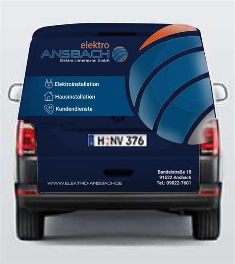 Fahrzeugbeschriftung Elektro by Fahrzeugbeschriftung F 252 R Elektrobetrieb