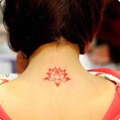 red lotus tattoo lotus flower wrist 2pcs lotus