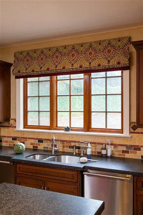 kitchen window coverings kitchen window coverings mediterranean roman shades
