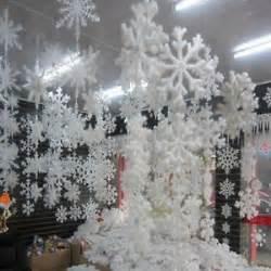 snowflake decorations hanging snowflakes ebay