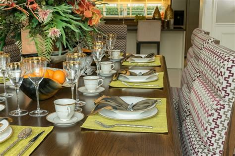 dining room table placemats 27 modern dining table setting ideas