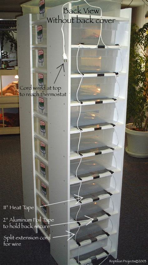 Diy Melamine Snake Rack by Ladder Rack