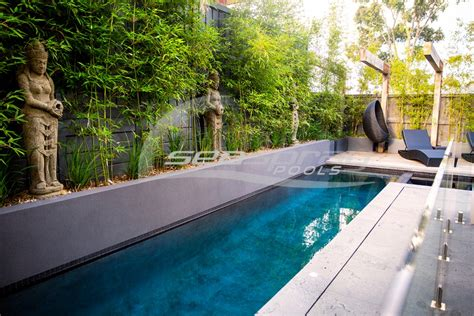 how to build a lap pool custom lap swimming pools melbourne seaspray pools