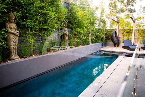 how to build a lap pool custom lap swimming pools melbourne seaspray pools