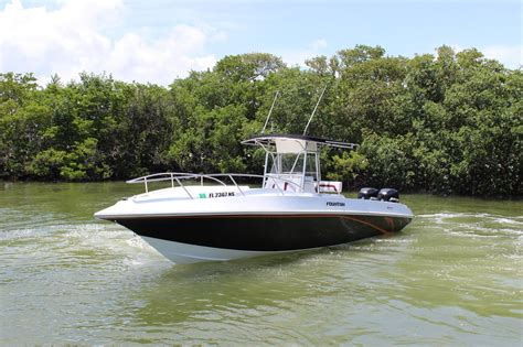 used saltwater boats for sale in florida 2003 used fountain 31 tournament edition saltwater fishing