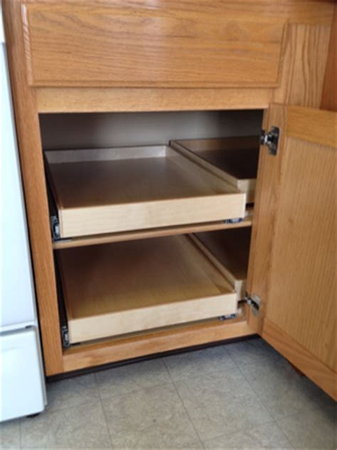 kitchen cabinet blind corner solutions diane albright cpo organizing productivity expert