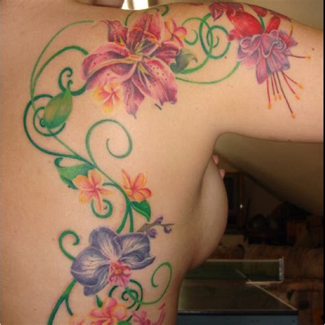tattoo pictures of flower vines 207 best lotus tattoo ideas images on pinterest