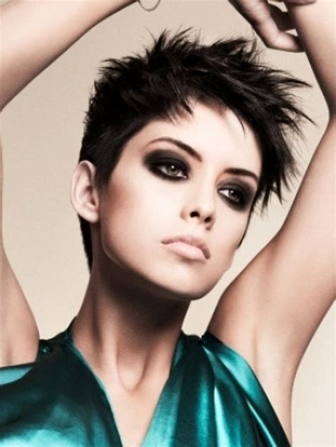 short haircuts edgy razor cut short pixie razor cut my style pinterest
