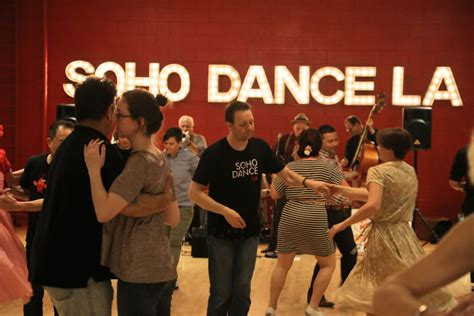 swing dancing los angeles swing dancing ends at soho dance la swingdance la