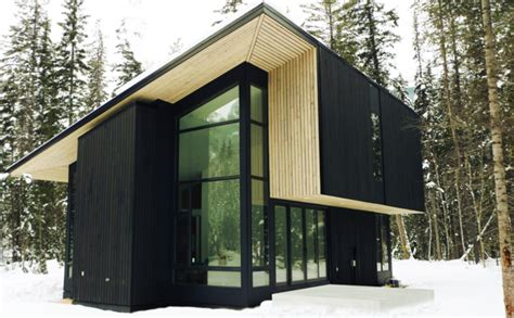 design form home jetson green natural modern flat pack cabin in canada