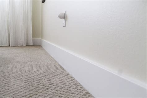 simple, modern baseboards time to replace the standard