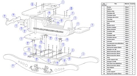 inspiration wood plane plans architecture