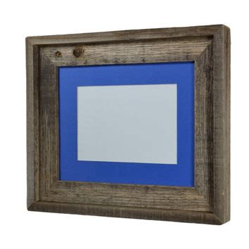 8x10 Frame With 5x7 Mat by 11x14 Wood Frame With Mat Great From Barnwood4u