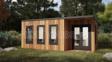 kildare contemporary log cabin    loghouseie
