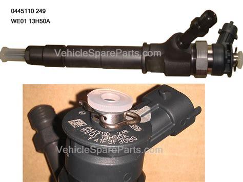 Bosch Genuine Parts Fuel Mazda Ford Toyota Kia Hyundai Honda we01 13 h50a genuine ford mazda we fuel injector 0445110249
